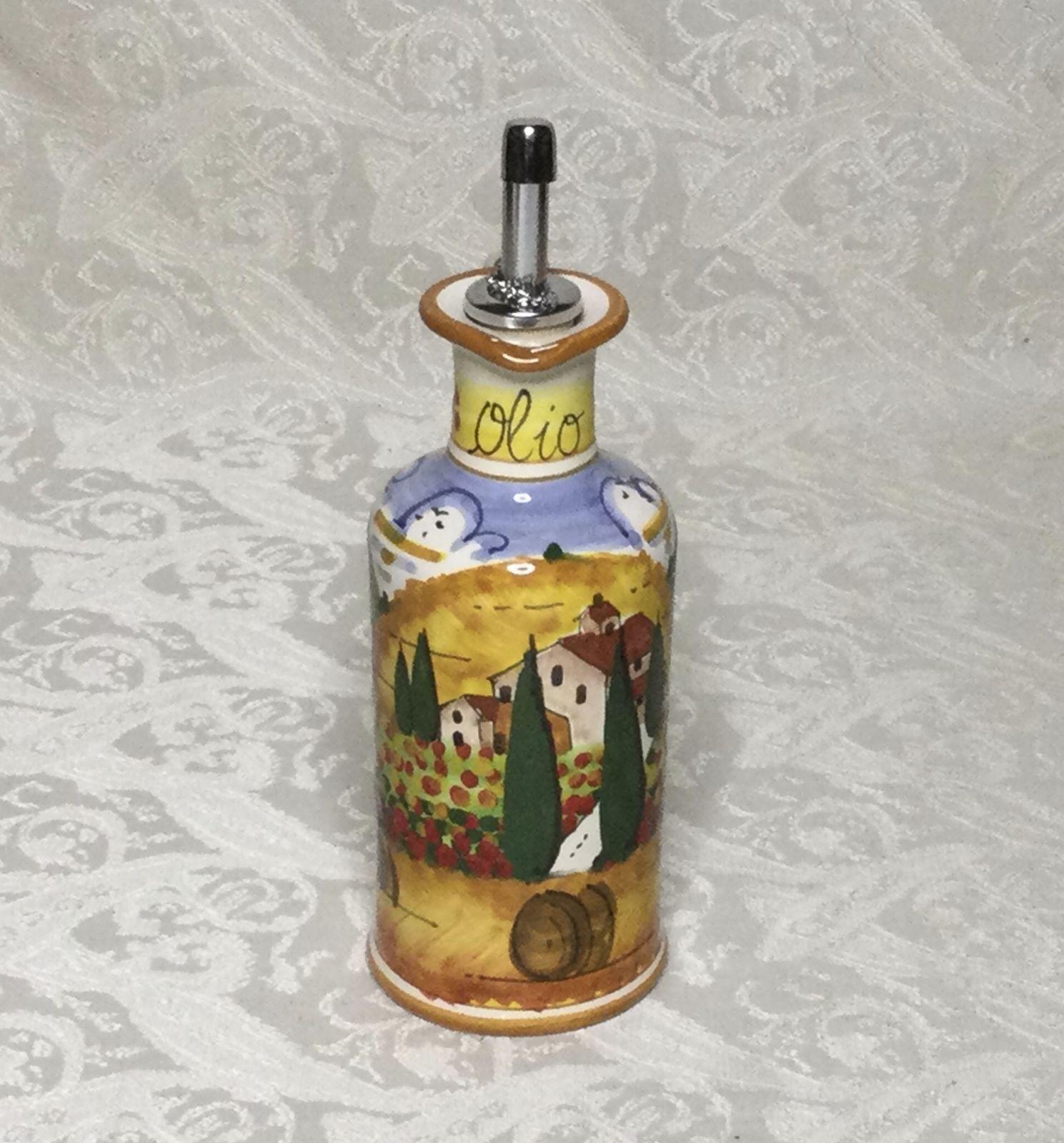 Ampolla olio con manici h11