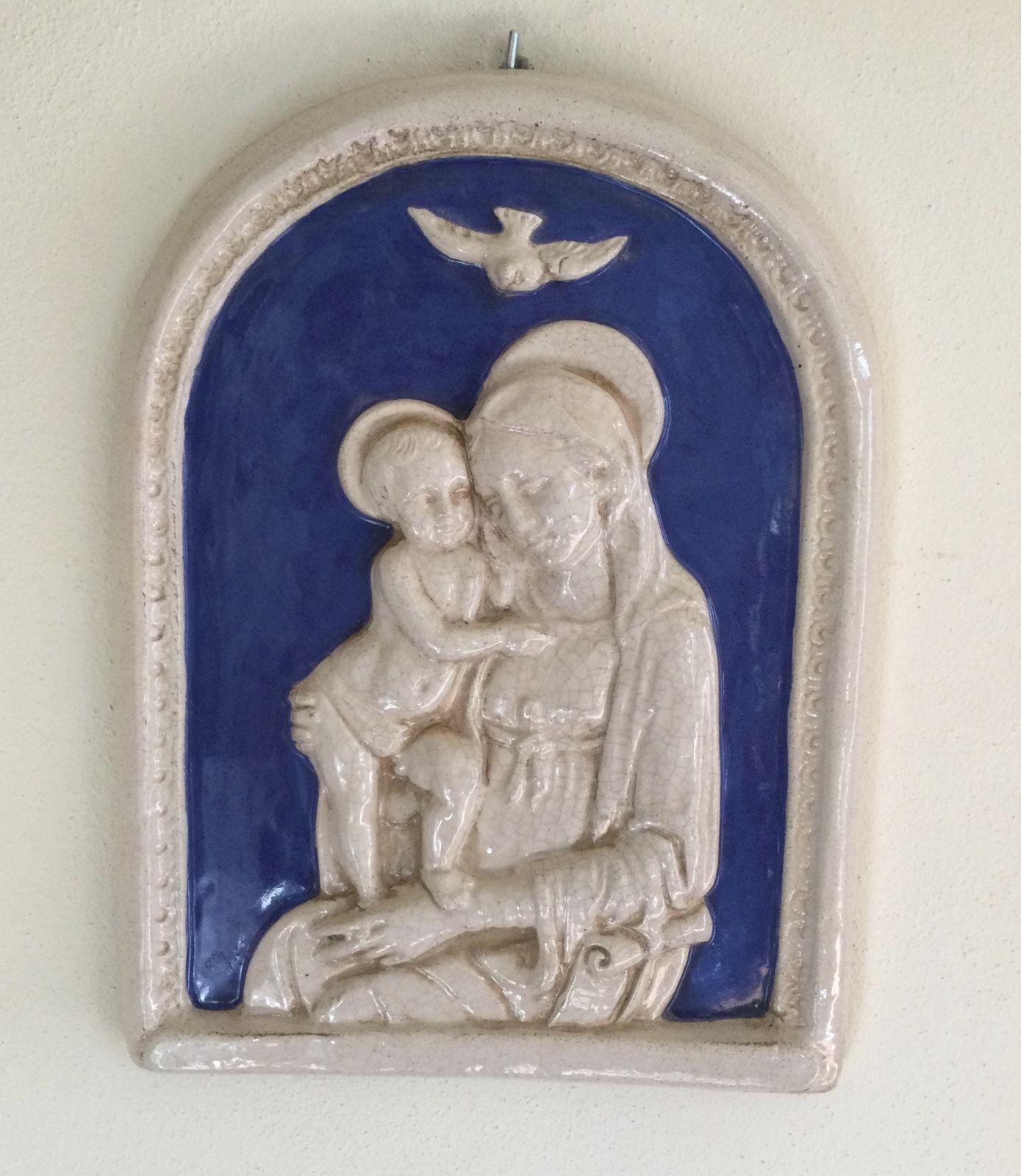 Madonna con bambino h35xL27