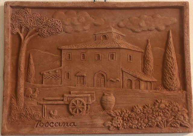 Pannello Colonica Toscana 31x22