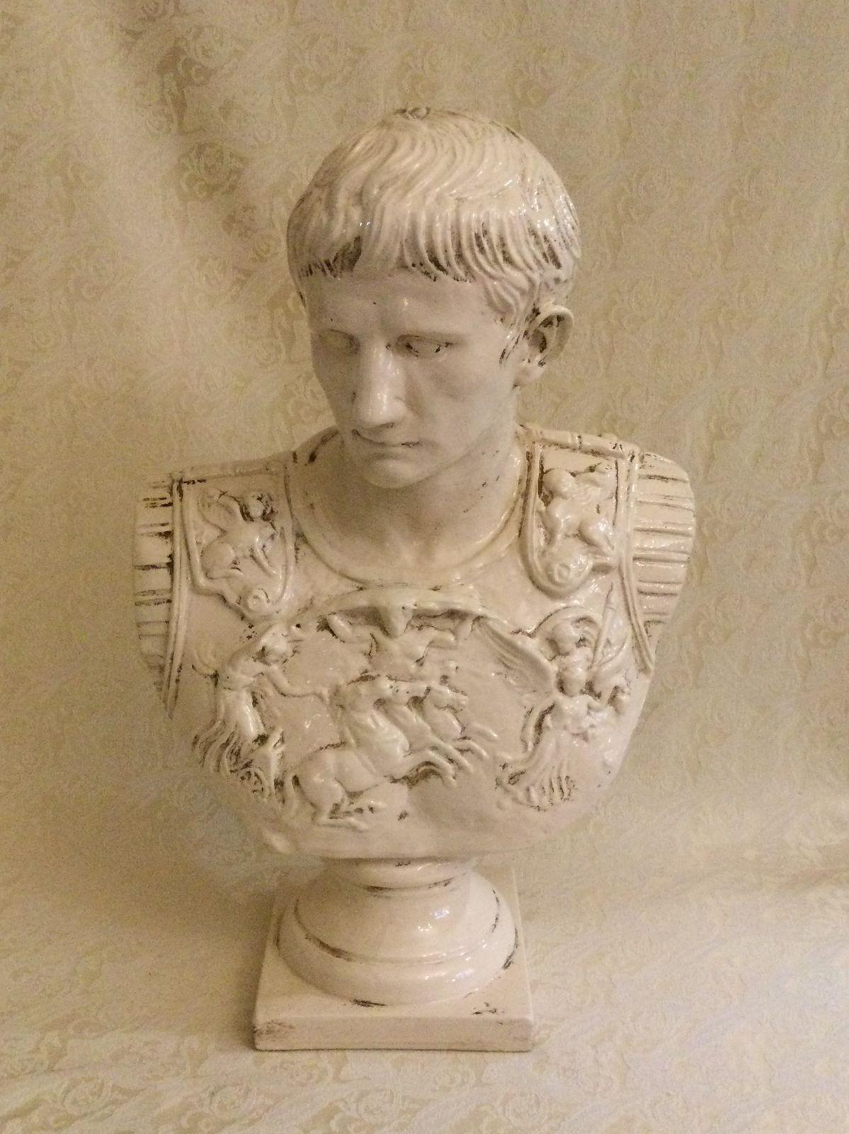 Busto Cesare Augusto h55 L36