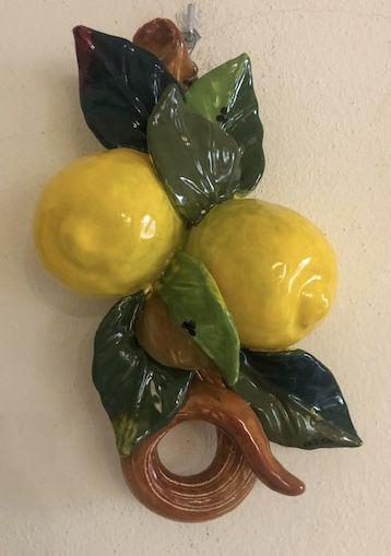 Tralcio con 2 limoni cm 27x16