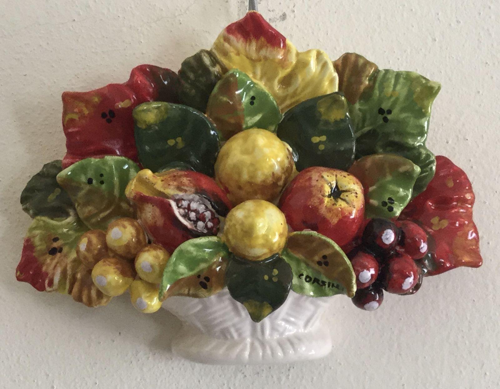 Cesto da muro cm 20x15 frutta mista