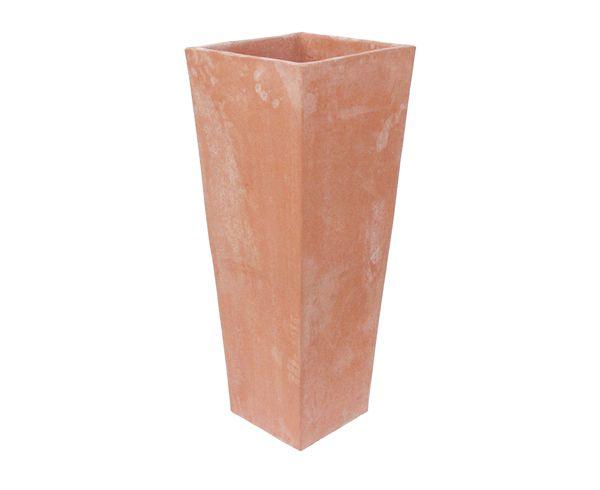 Vaso quadrato cm 20x20h45