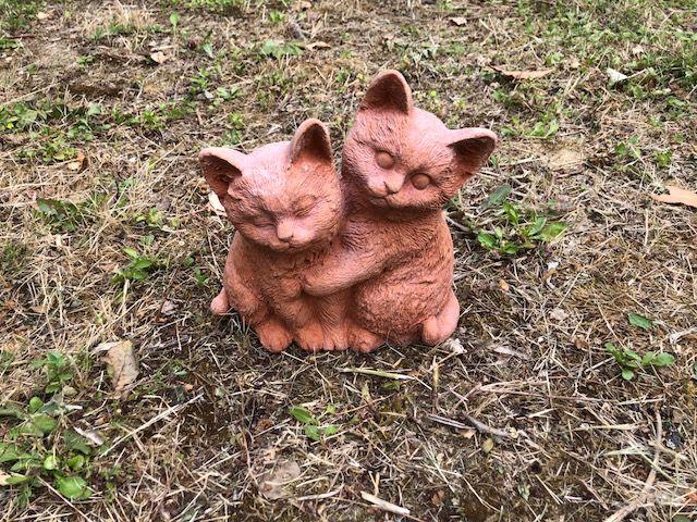 Gatti innamorati cm 18x18