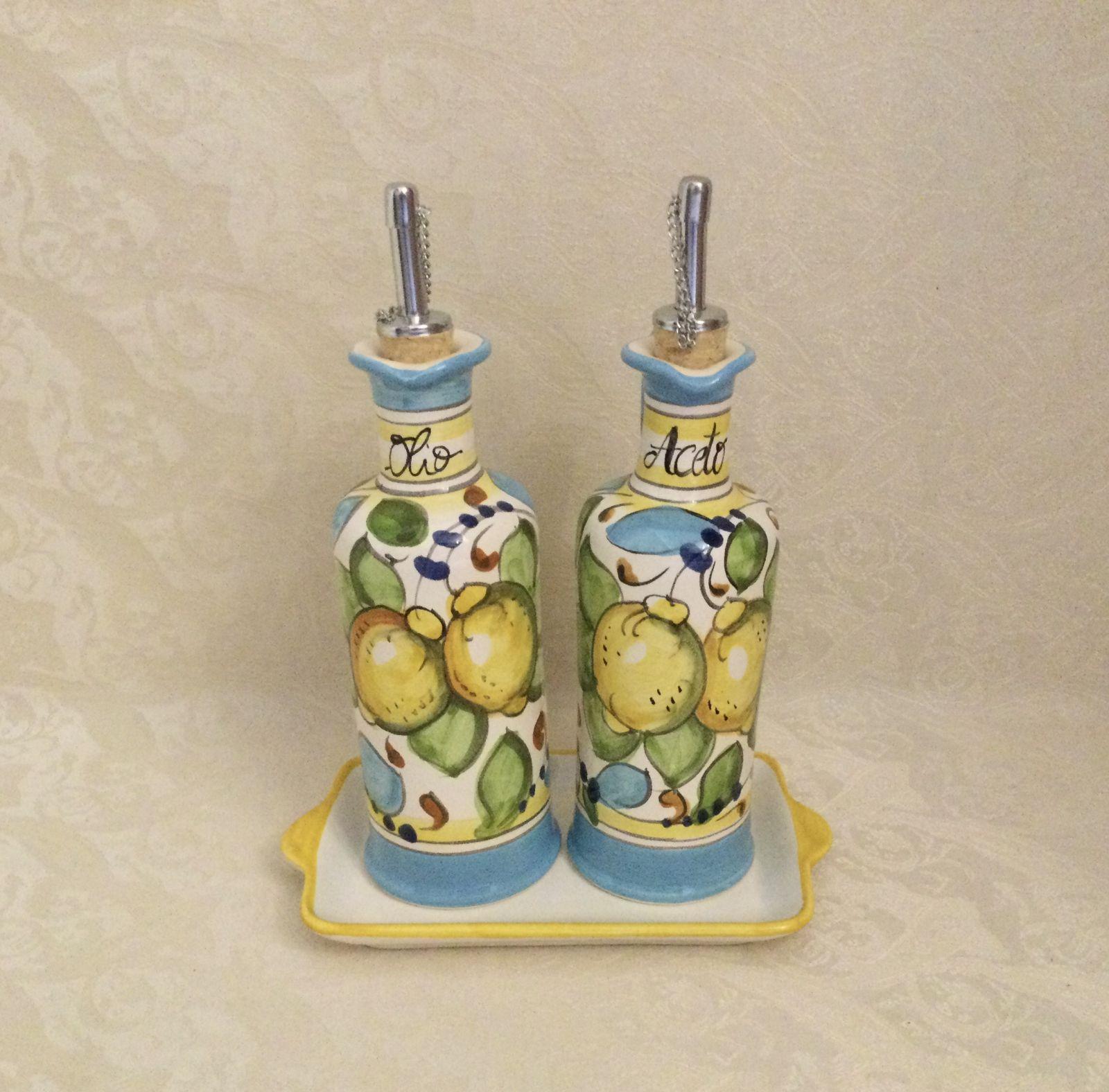 Set olio&aceto h18 limoni celesti