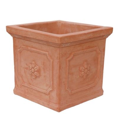 Cubo con rosone 45x45 h41