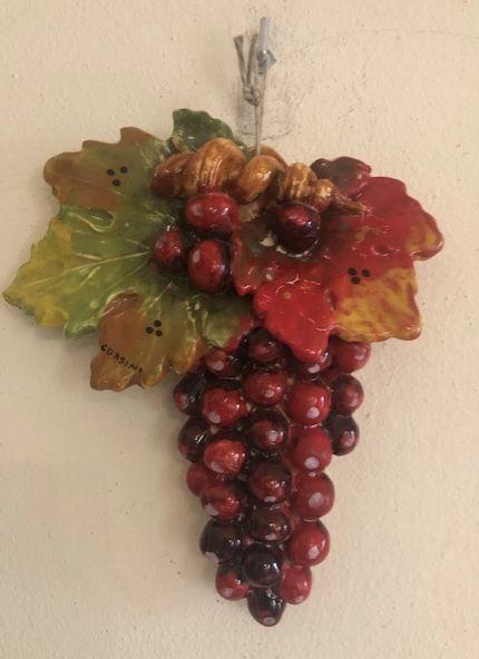 Ciocca uva rossa Cm 23x18