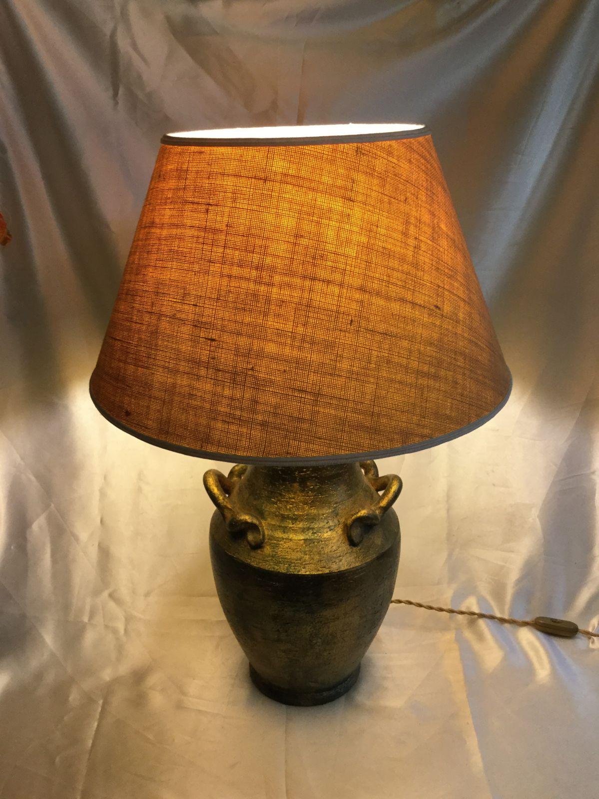 Base lampada h47 L22 dipinta a freddo