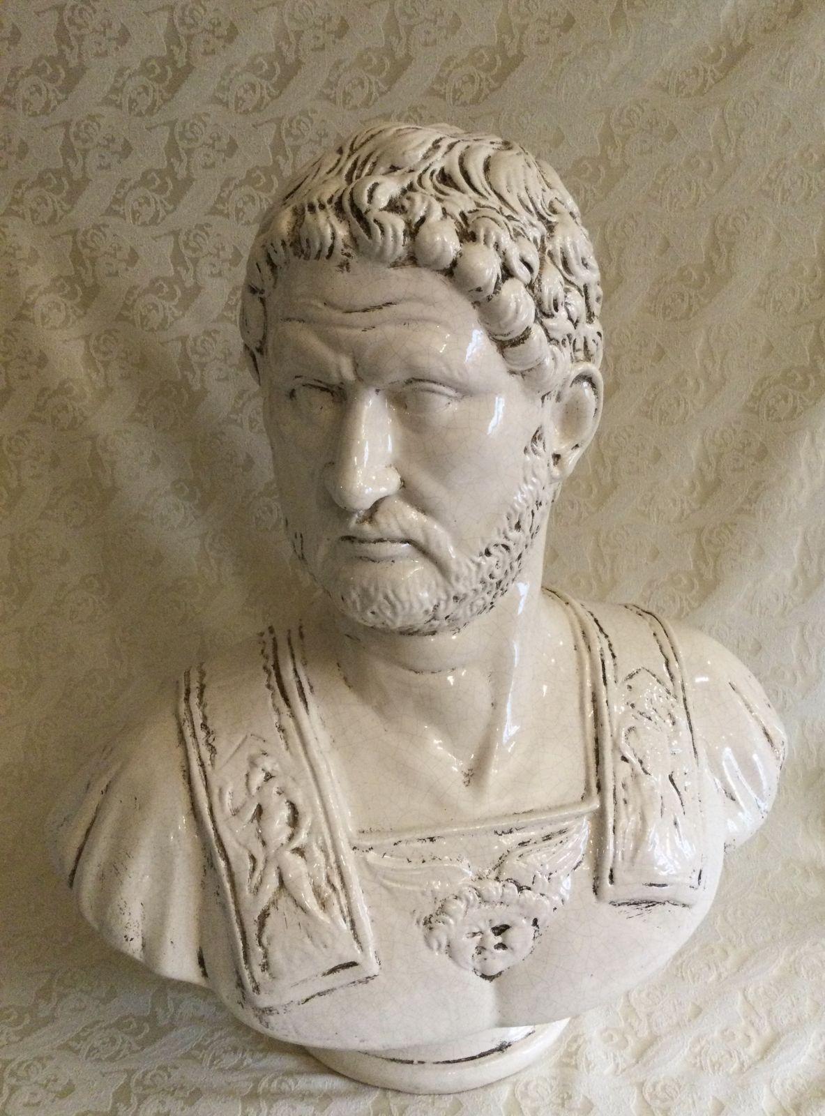 Busto Adriano imperatore h60 L47