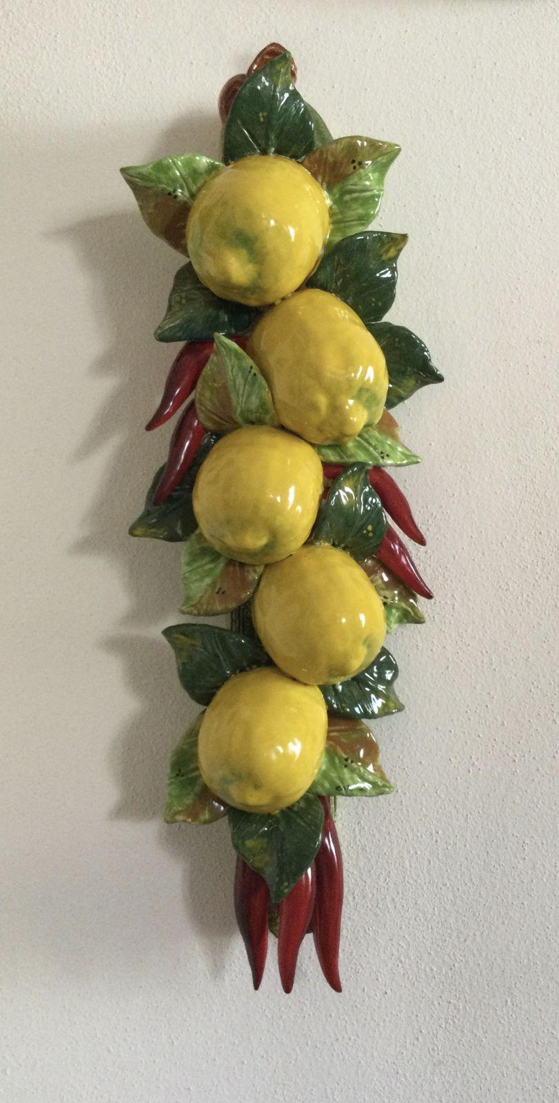 Tralcio h50 limoni&peperoncini