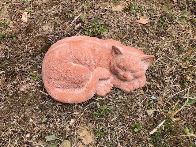 Gatto che dorme cm 27Lx12L