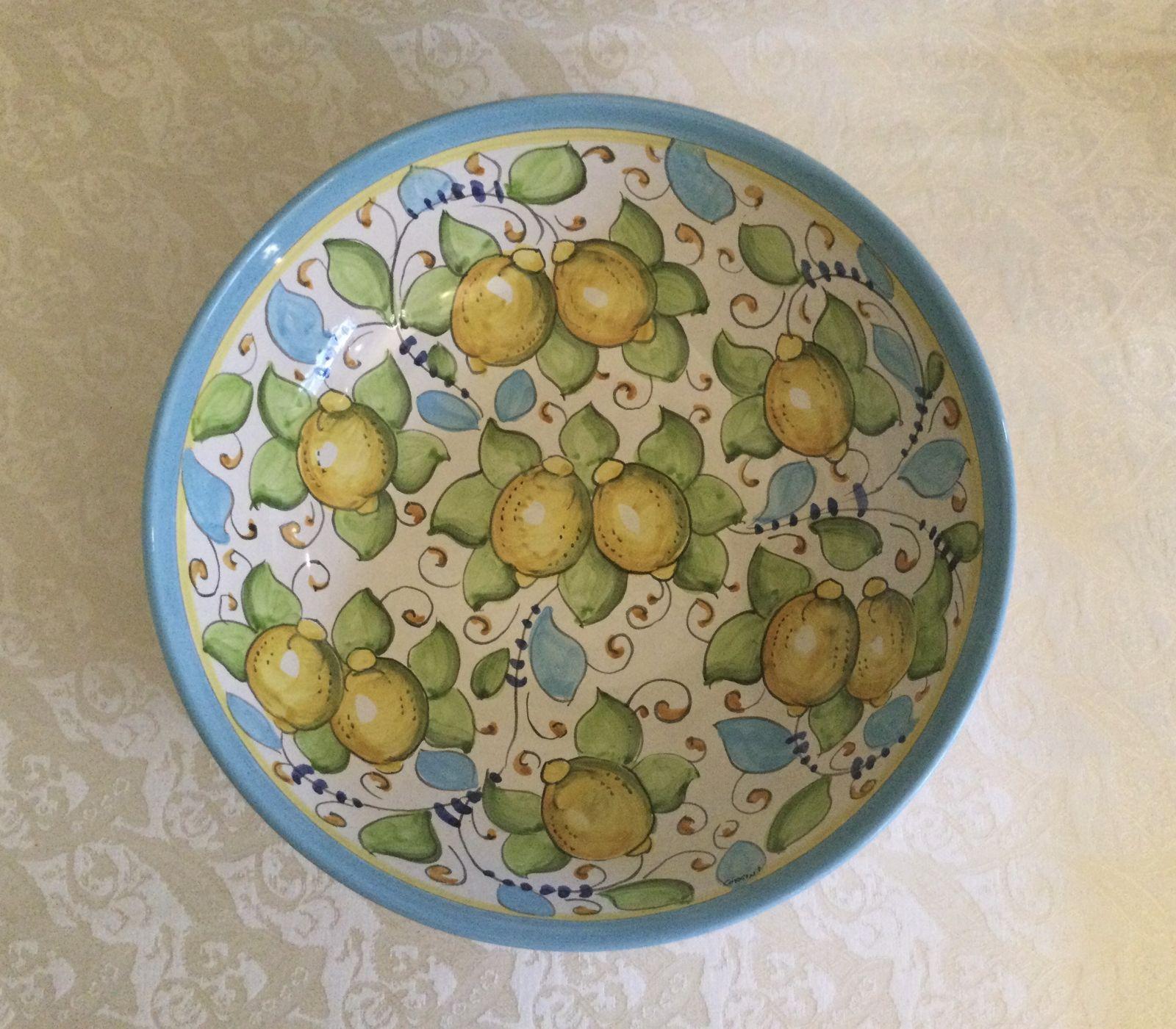 Bolo cm 35 limoni celesti