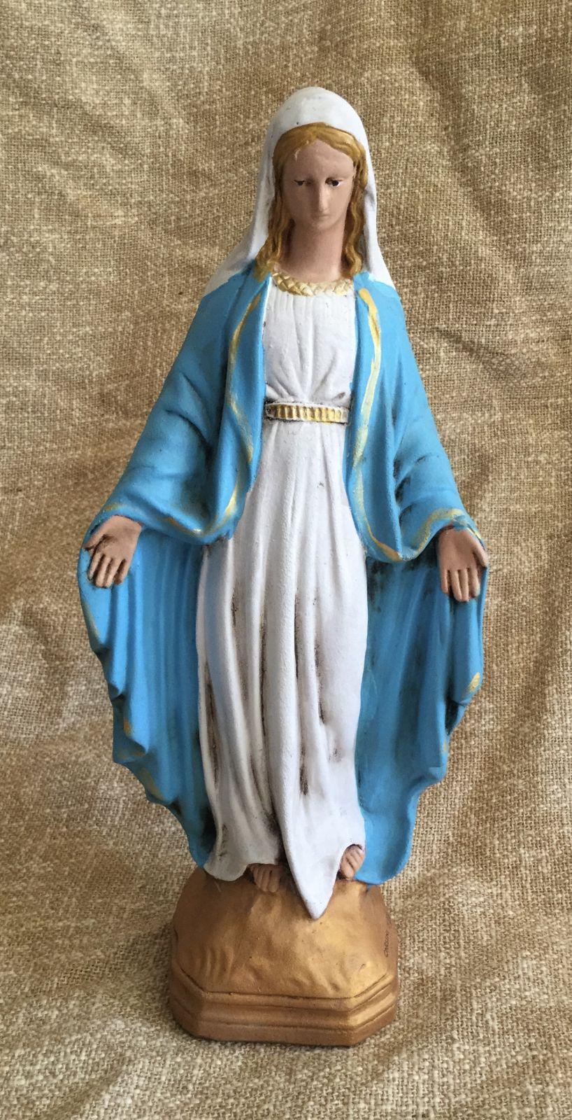 Madonna h36 dipinta a freddo